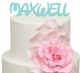 Magic Kingdom Font Personalised Name Cake Acrylic Topper